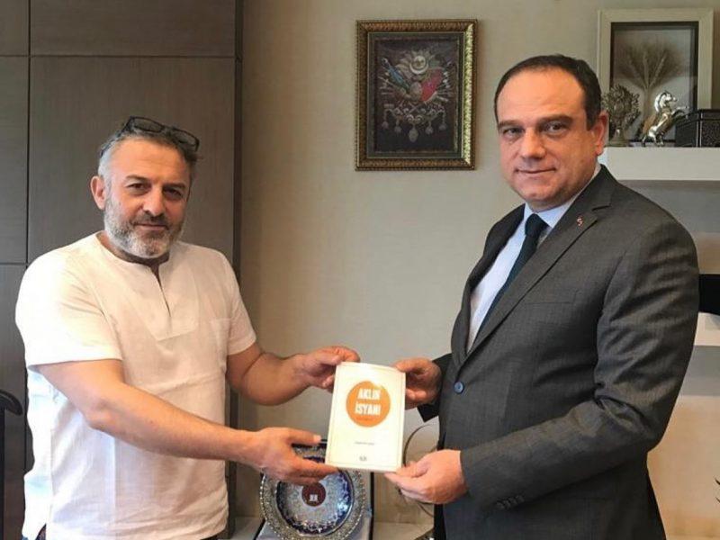 Anayasa Mahkemesi üyesi Sn. Basri BAĞCI'yı ziyaret