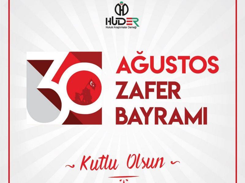 30 Ağustos Zafer Bayramı Kutlu Olsun…