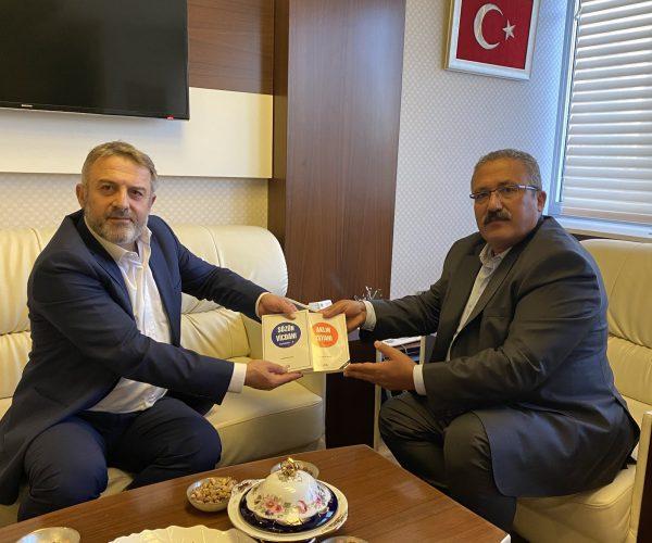 HSK Başkan Vekili Sn. Mehmet Yılmaz bey ile görüşme