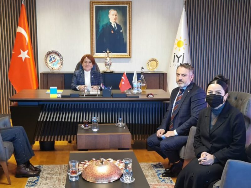 İyi Parti Genel Başkanı Sayın Meral Akşener'i ziyaret ettik