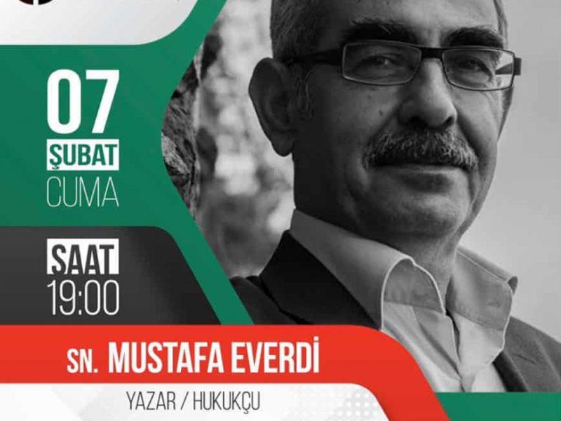 """Sn. Mustafa Everdi – """"Adaletin bu mu dünya"""" söyleşisi"""