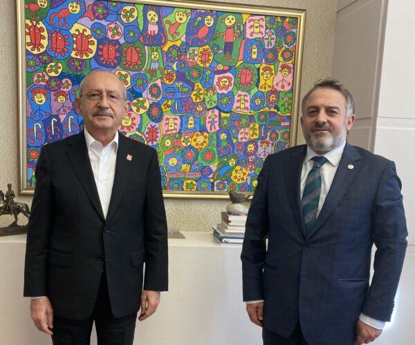 CHP Genel Başkanı ziyareti