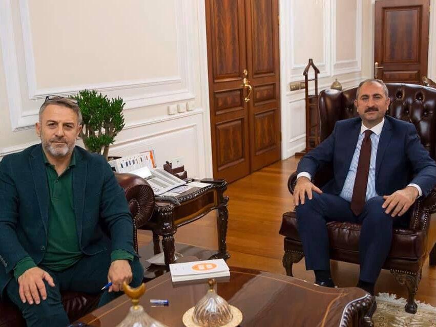 Adalet Bakanımız Sayın Abdülhamit GÜL'ü ziyaret