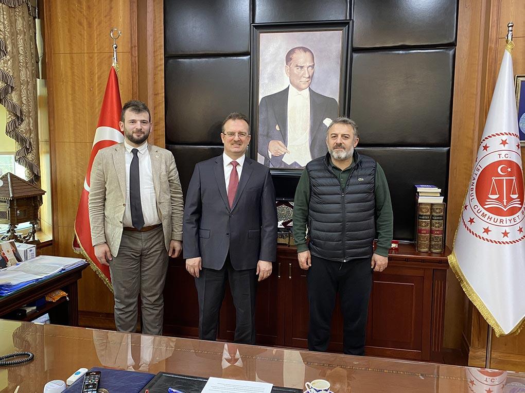 İstanbul Başsavcısı Şaban Yılmaz'ı ziyaret