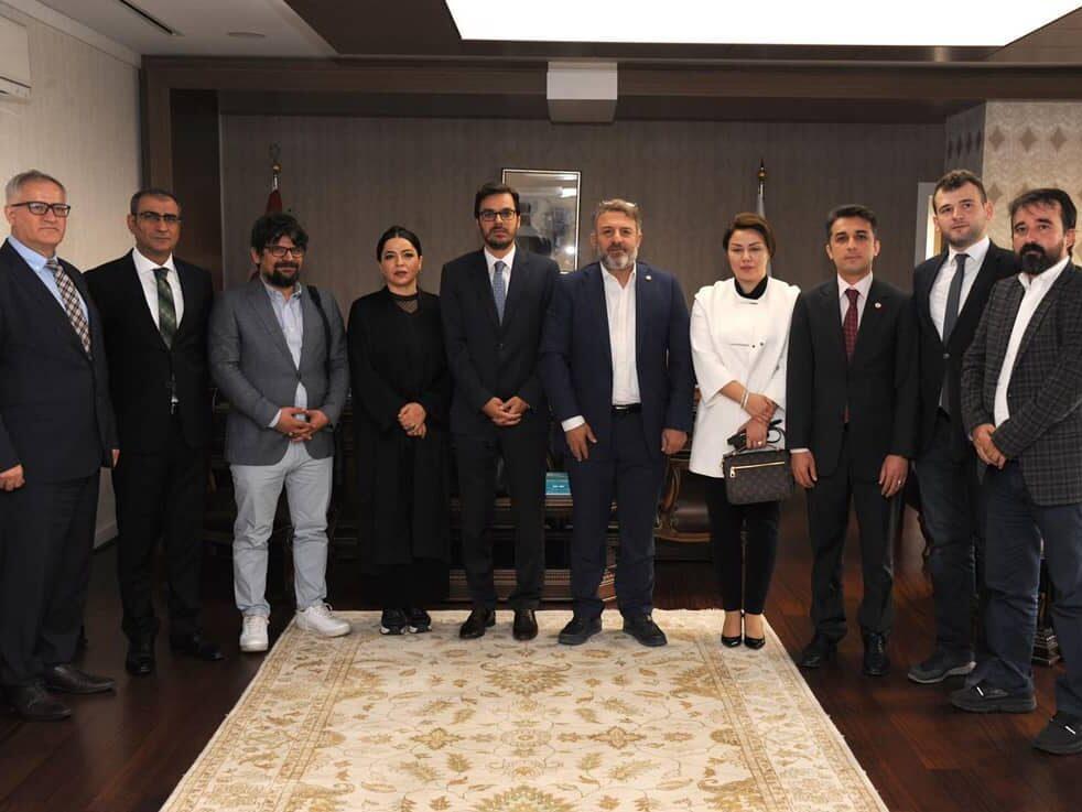 TRT Genel Müdürü Sn. İbrahim EREN'i ziyaret