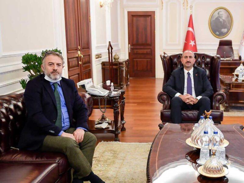 Adalet Bakanı Sn. Abdulhamit GÜL ile Görüşme